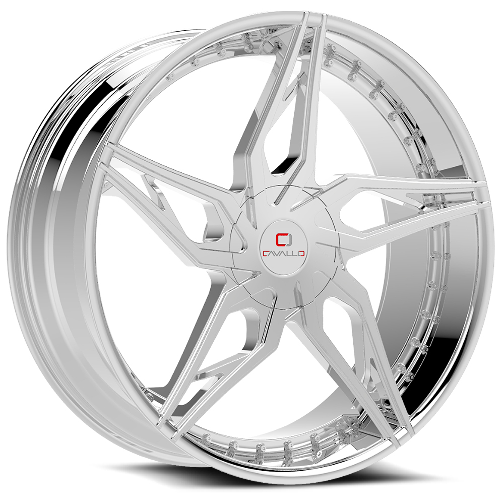 Cavallo CLV-38 Chrome Wheels