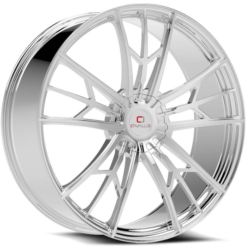 Cavallo CLV-39 Chrome Wheels