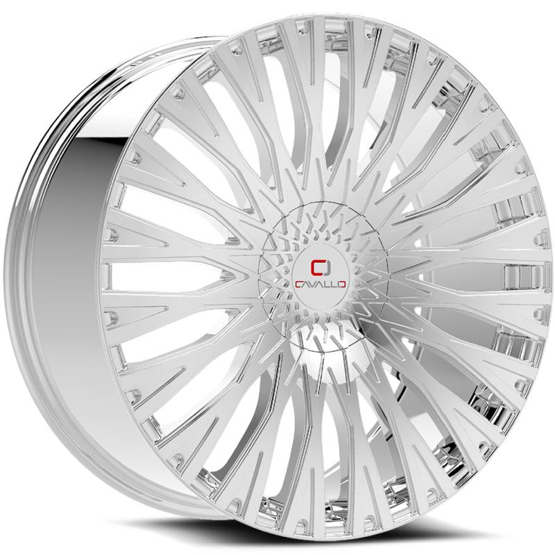Cavallo CLV-40 Chrome Wheels