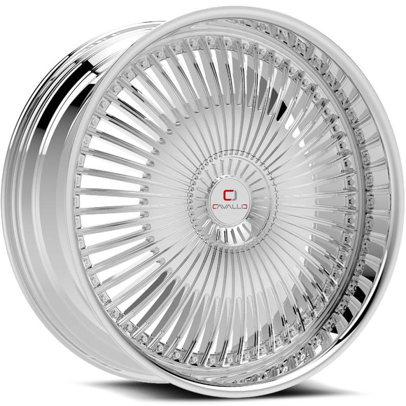 Cavallo CLV-41 Chrome Wheels