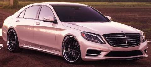 Mercedes S Class on Velos VSS S10 3-Piece Wheels (Floating)