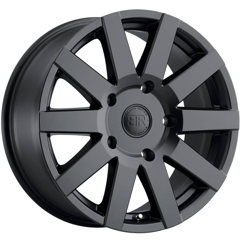 Black Rhino Journey Matte Black Wheels
