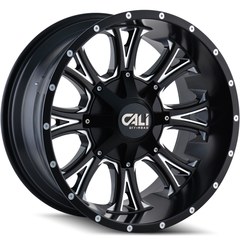Cali Off-Road 9101 Americana Black Wheels