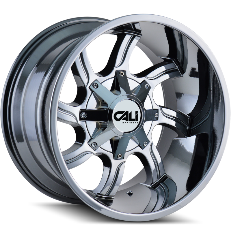 Cali Off-Road 9102 Twisted Chrome Wheels