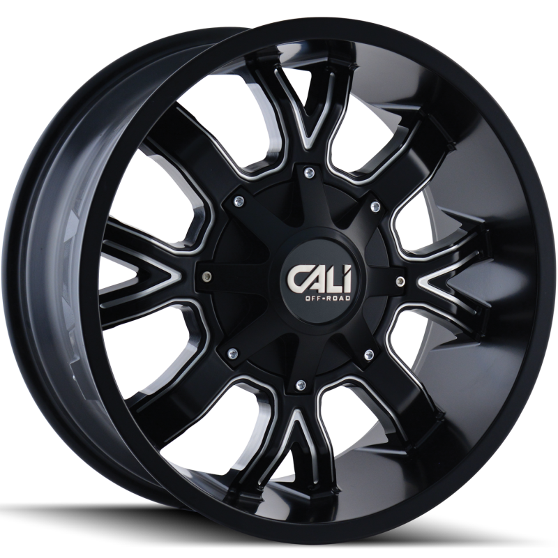 Cali Off-Road 9104 Dirty Black Wheels