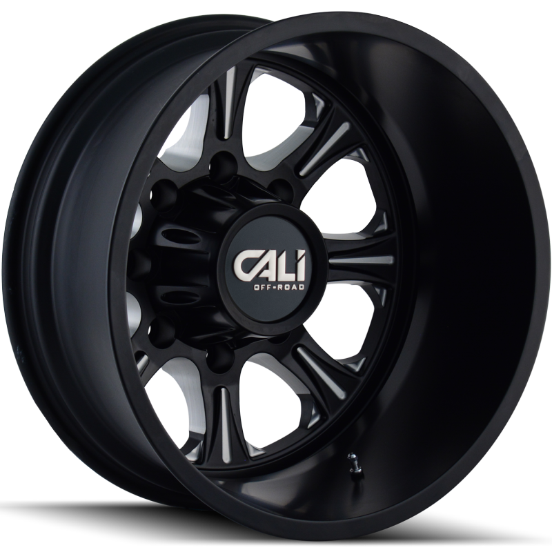 Cali Off-Road 9105 Brutal Black Rear Dually Wheels