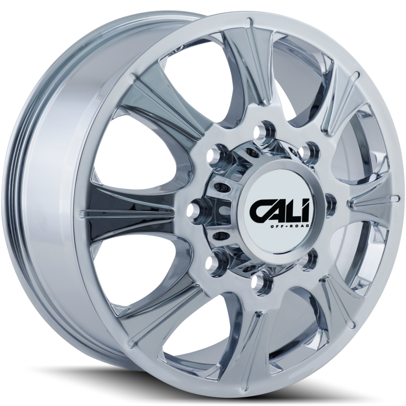 Cali Off-Road 9105 Brutal Chrome Front Dually Wheels