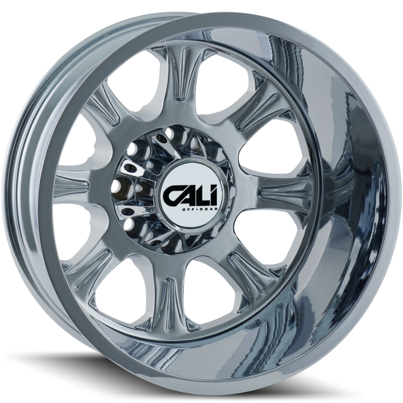 Cali Off-Road 9105 Brutal Chrome Rear Dually Wheels
