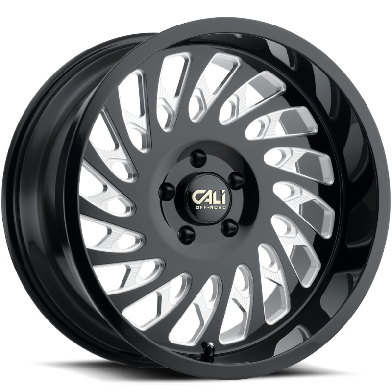 Cali Off-Road 9108 Switchback Black Wheels