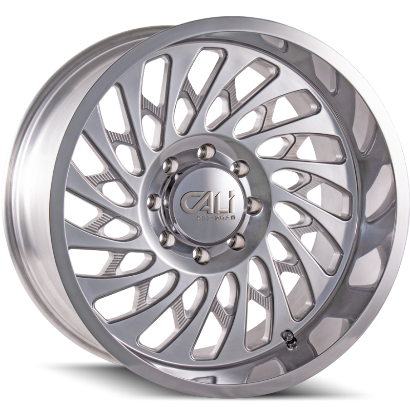 Cali Off-Road 9108 Switchback Polished Wheels