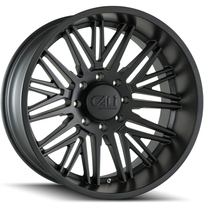 Cali Off-Road 9109 Rawkon Matte Black Wheels