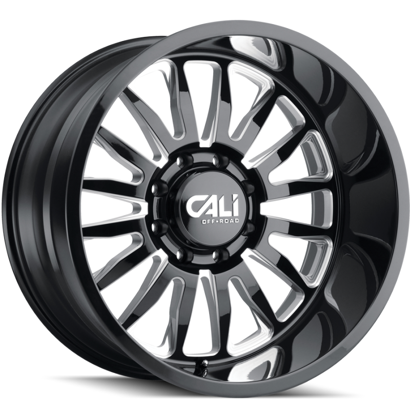 Cali Off-Road 9110 Summit Black Wheels
