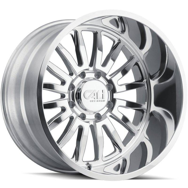Cali Off-Road 9110 Summit Polished Wheels