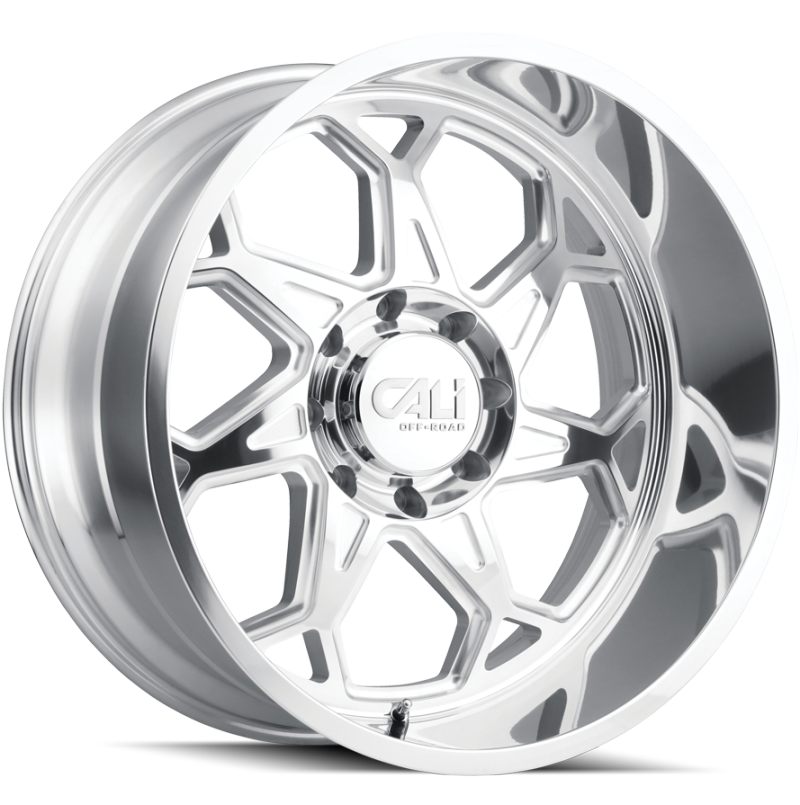 Cali Off-Road 9111 Sevenfold Chrome Wheels
