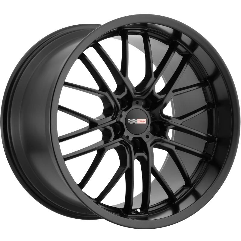 Cray Eagle Matte Black Wheels for Corvette