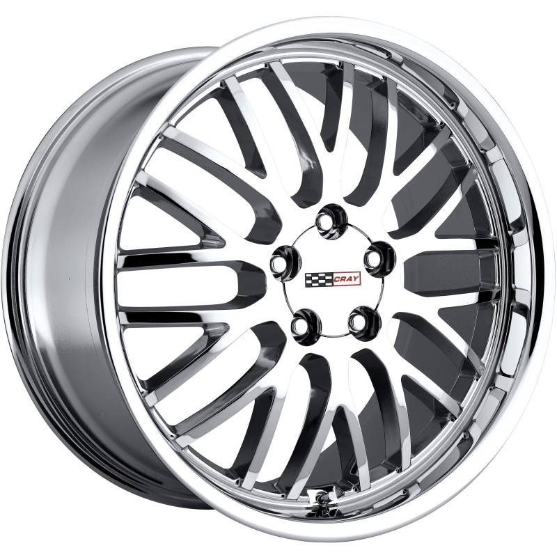 Cray Manta Chrome Wheels for Corvette