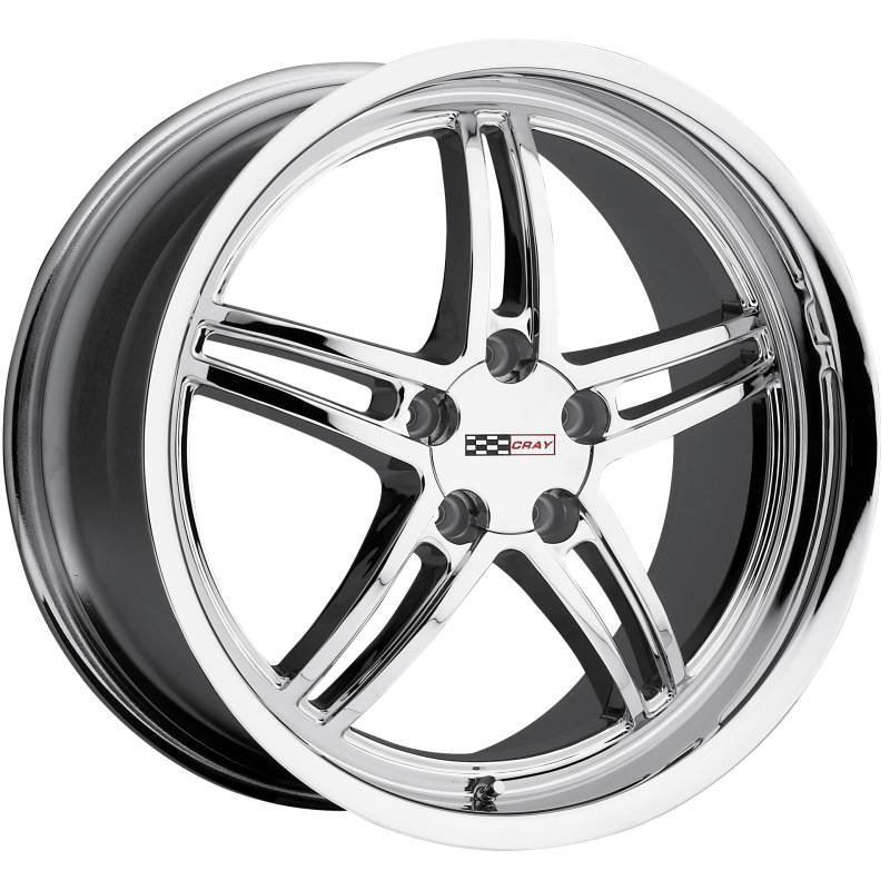 Cray Scorpion Chrome Wheels for Corvette