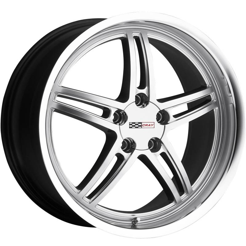 Cray Scorpion Hyper Silver Wheels for Corvette