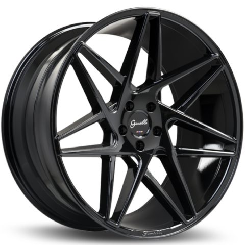 Gianelle Parma Gloss Black Wheels