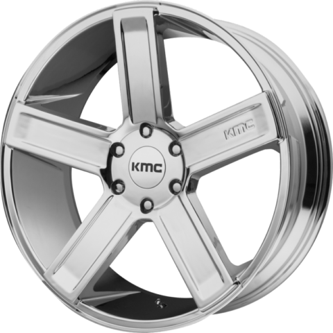 KMC KM702 Duece Chrome Wheels