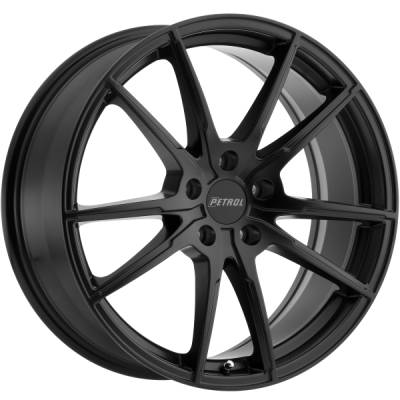 Petrol P0A Matte Black Wheels