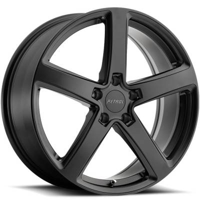 Petrol P2A Matte Black Wheels