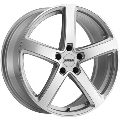 Petrol P2A Silver Machined Wheels