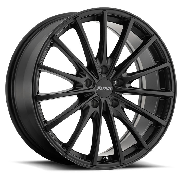 Petrol P3A-5 Matte Black Wheels