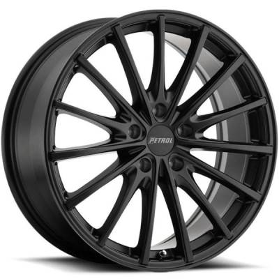 Petrol P3A Matte Black Wheels