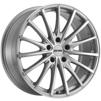 Petrol P3A Silver Machined Wheels