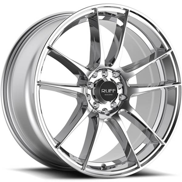 Ruff R364 Chrome Wheels