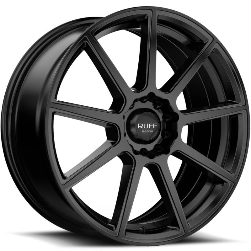 Ruff R366 Satin Black Wheels