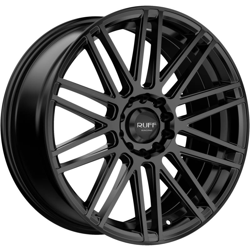 Ruff R367 Satin Black Wheels