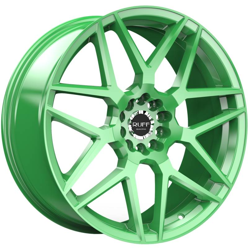 Ruff R351 Bright Green Wheels