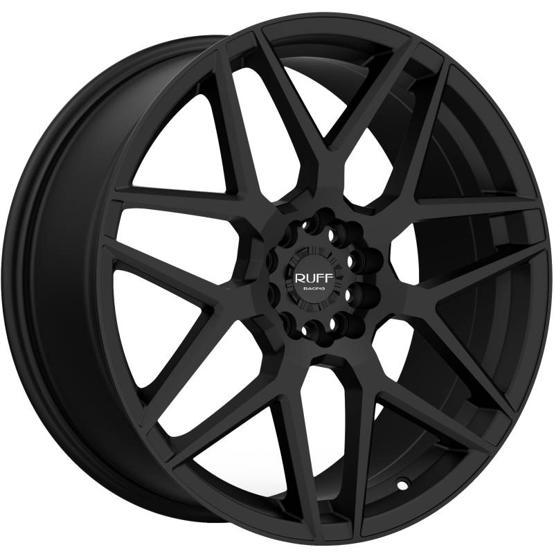 Ruff R351 Flat Black Wheels