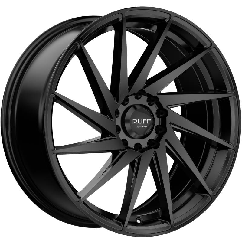 Ruff R363 Satin Black Wheels