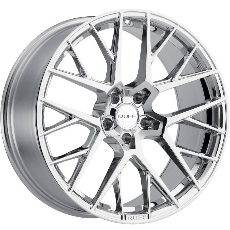 Ruff R4 Chrome Wheels
