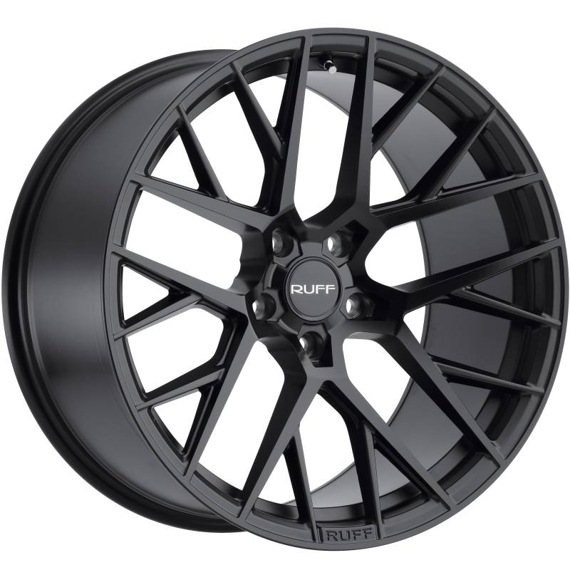 Ruff R4 Gloss Black Wheels