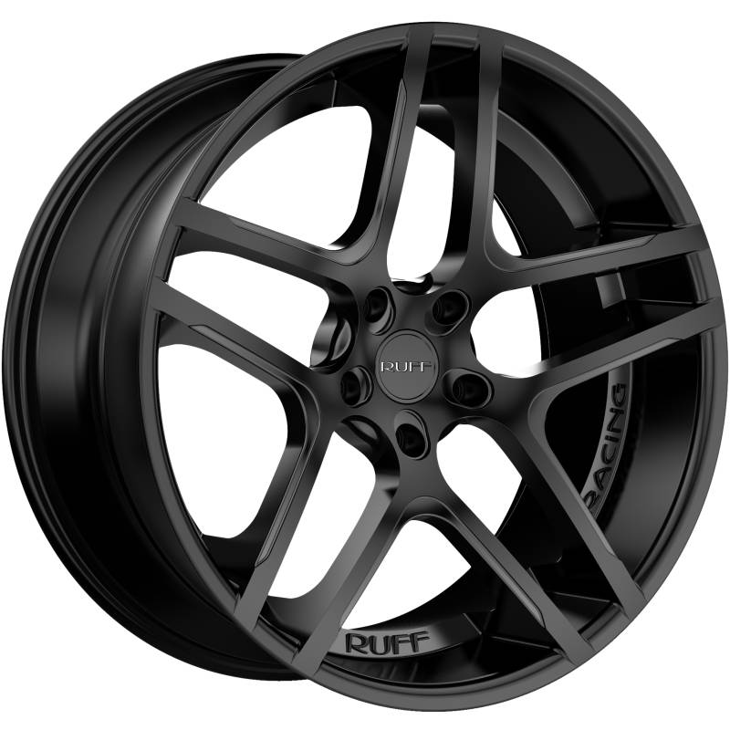 Ruff R964 Satin Black Wheels
