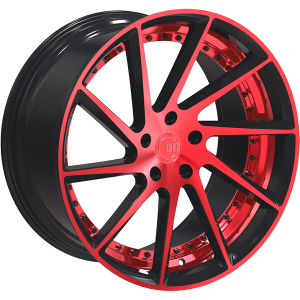 Euro Racing Wheels ERW001 Red and Black