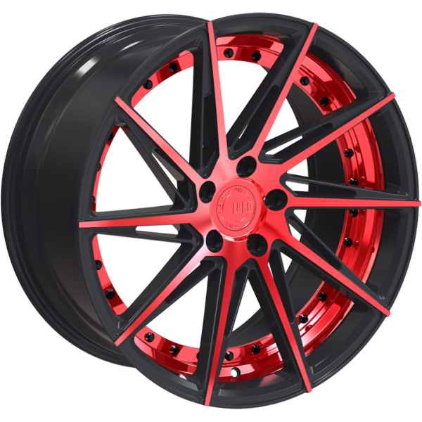 Euro Racing Wheels ERW002 Red and Black