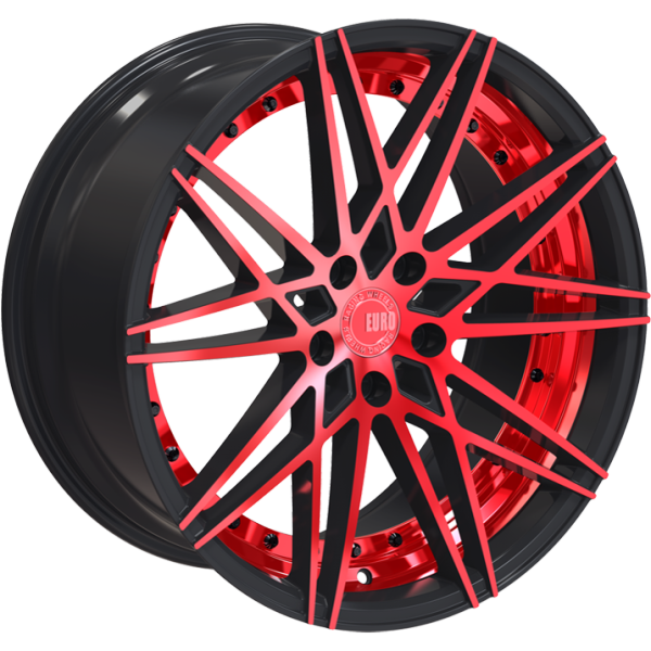 Euro Racing Wheels ERW004 Red and Black
