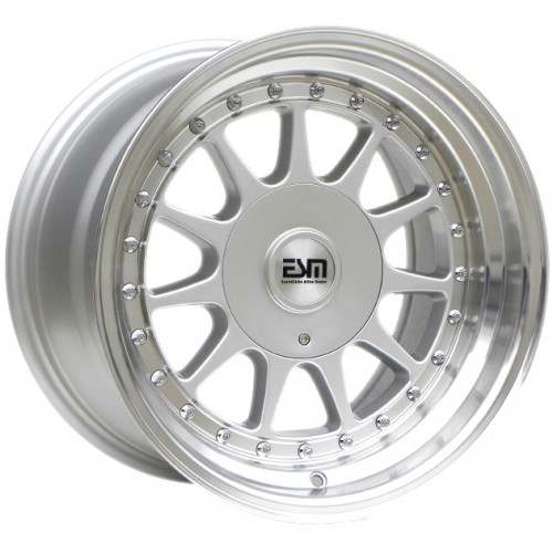 ESM 003R Silver Wheels