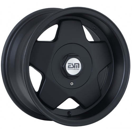 ESM 009R Matte Black Wheels