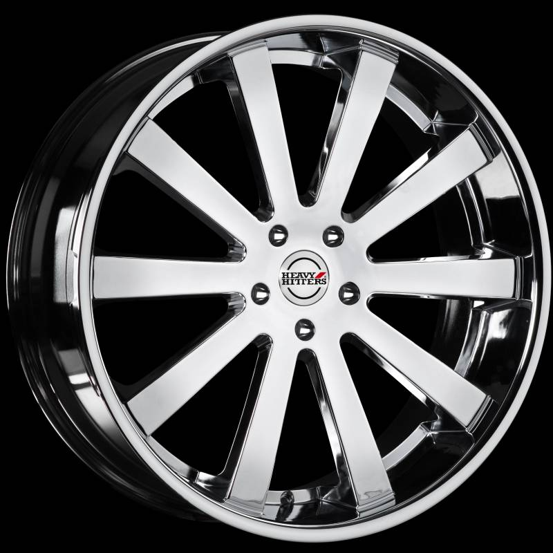 Heavy Hitters HH10 Chrome Wheels