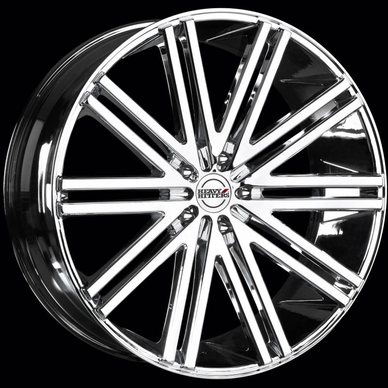 Heavy Hitters HH11 Chrome Wheels
