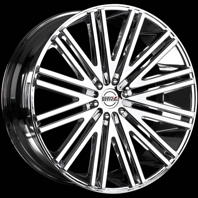Heavy Hitters HH12 Chrome Wheels