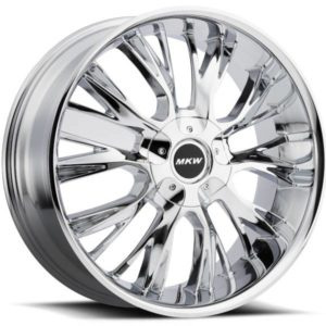 MKW M122 Chrome Wheels