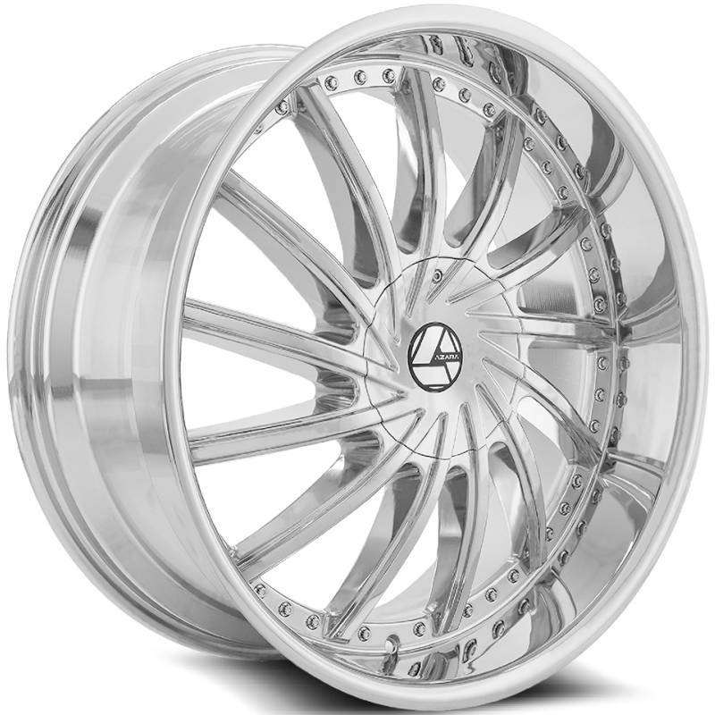 Azara AZA-517 Chrome Wheels
