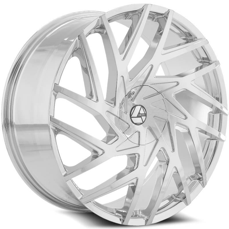 Azara AZA-518 Chrome Wheels